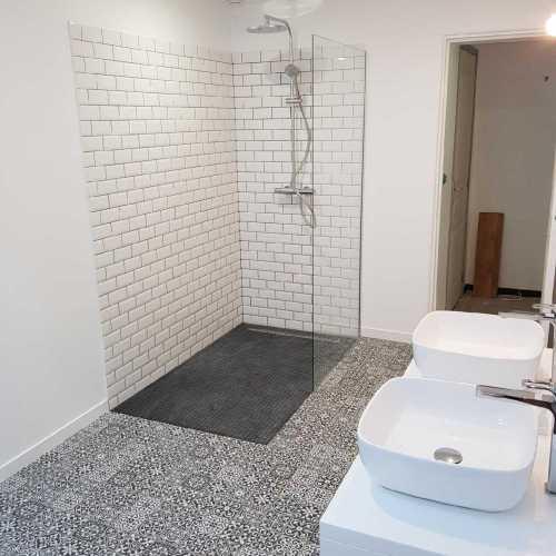 Rénovation d'une salle de bain-douche