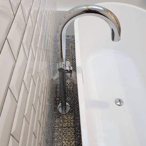 Rénovation d'une salle de bain-mitigeur bain
