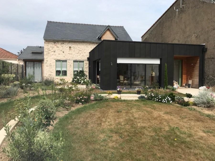 Rénovation et extension d'une maison sur la côte de Jade