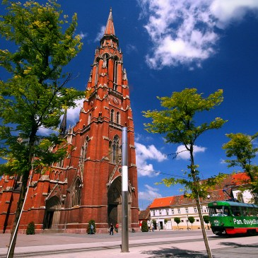 CITY SIGHTSEEING VIA THE OSIJEK TRAM
