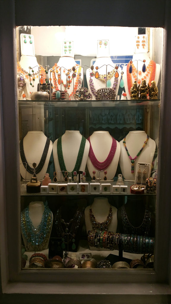 Selection of Jewelry at Rambagh Palace