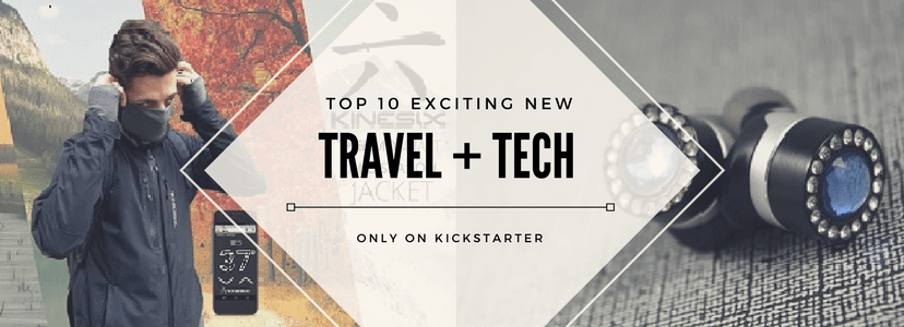 Kickstarter, travel, technology, gifts