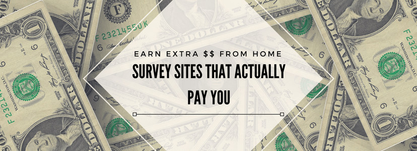 survey sites, paid surveys, extra cash, work from home