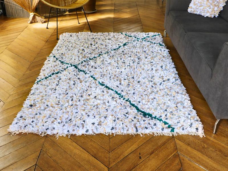 comment nettoyer un tapis boucherouite
