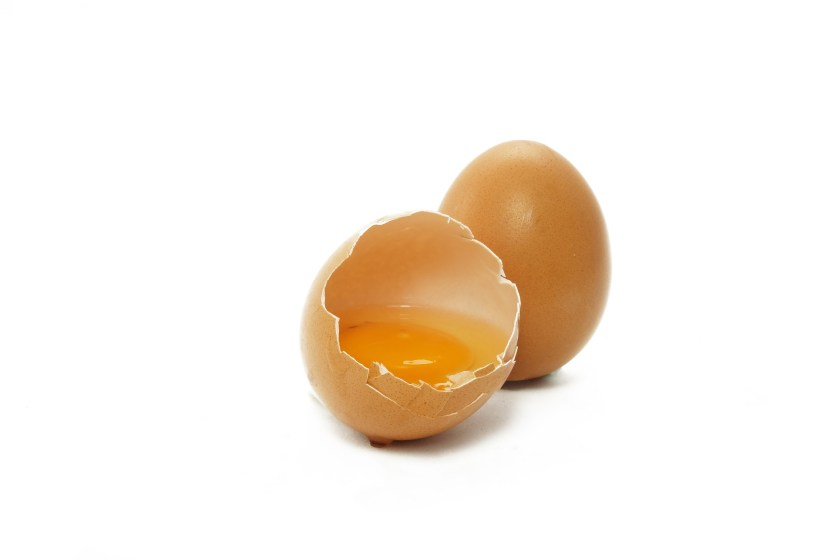 Eggs are used raw or partially cooked in some recipes.  Salmonella or other bacteria can be found on eggs, which may lead to food poisoning, thought incidence of such contamination is rare.