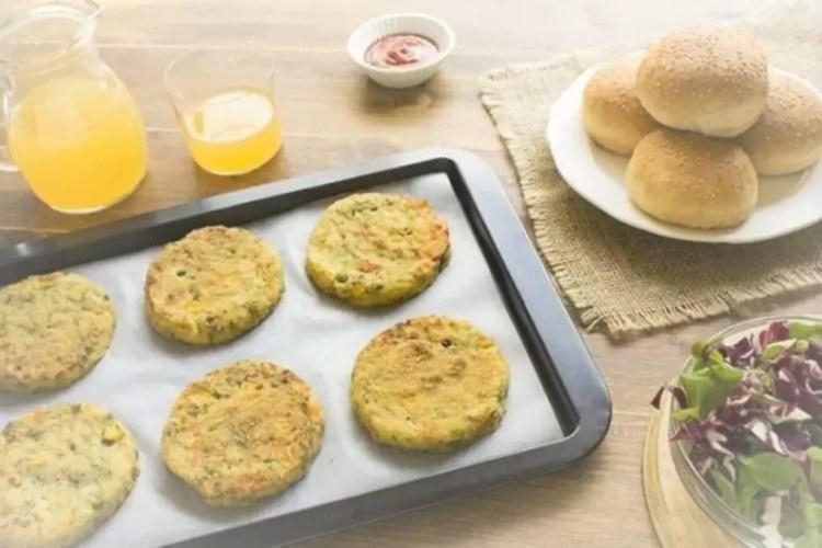 high protein veggie burger recipe