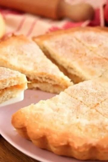 italian apple tart