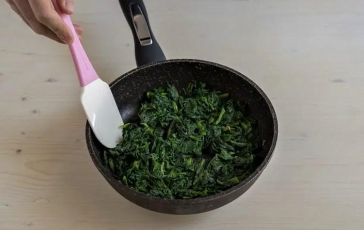 green spinach pasta
