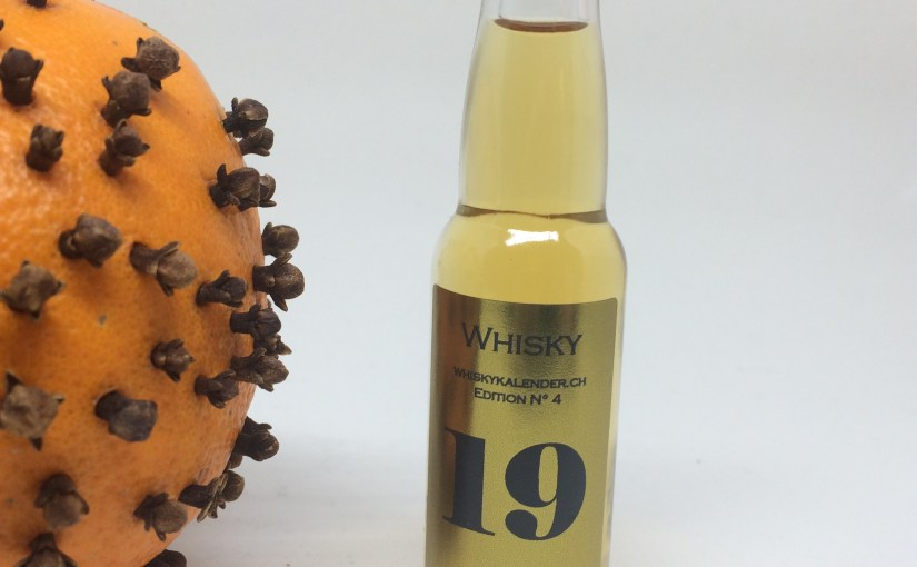#24WHISKYS – 19. Dezember: Tomintoul 12yrs Oloroso