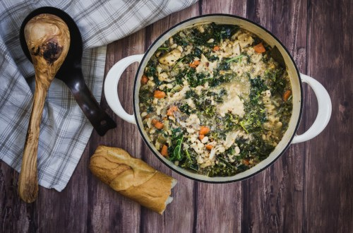 Cold Season Soup from Boiled Wheat Blog by Kristen McSorley, Bozeman Montana Food Photographer