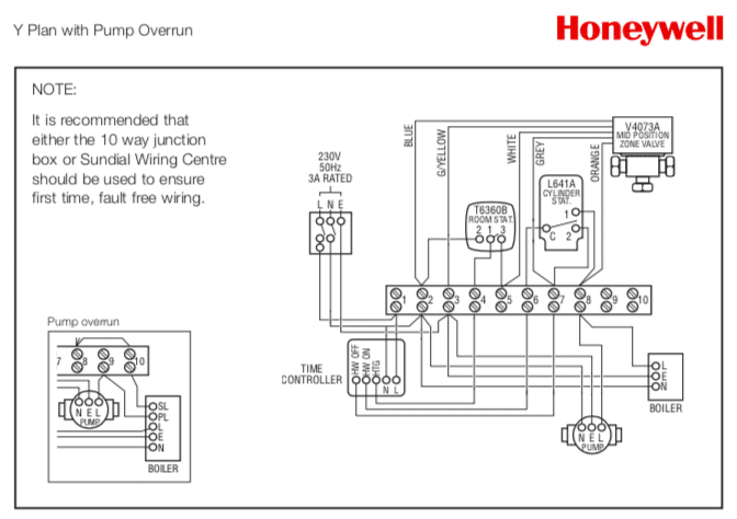 Wiring Diagram For A Y Plan Heating System