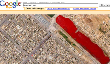 Google Earth: helpful for evading death squads in Iraq / Boing Boing