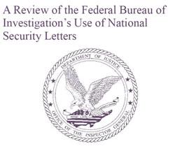 DoJ: FBI misused Patriot act in domestic spying activities