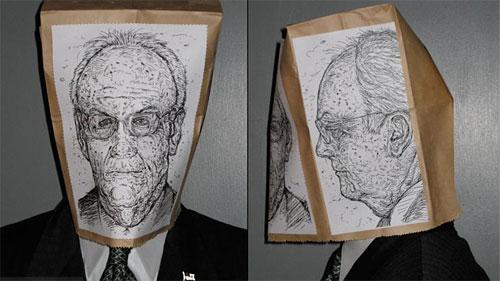 Halloween mugshot mask: U.S. Senator Larry Craig / Boing Boing