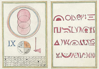 La Très Sainte Trinosophie: 18th c  French occult tome