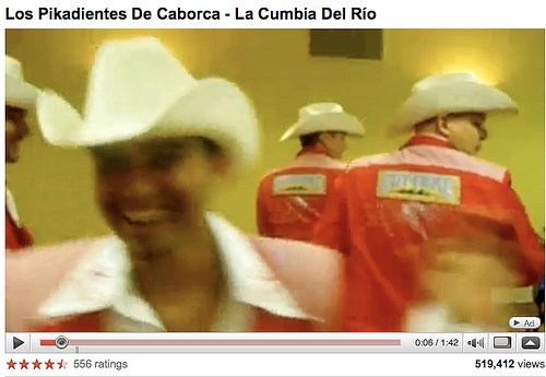 Los Pikadientes: La Cumbia Del Río (YouTube Screengrab)