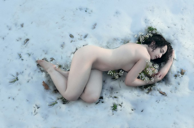 """The Fragile Blossom That Opens In The Snow,"" Sarah Allegra"