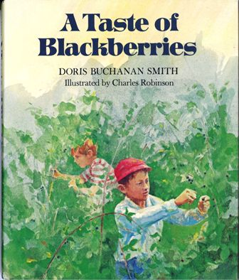 A_Taste_of_Blackberries_library_binding