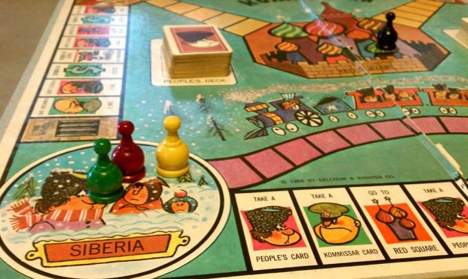 siberia kommissar board game