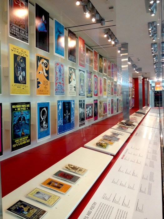 """""""When Art Rocked"""" at San Francisco International Airport. From left to right: The David Singer section."""