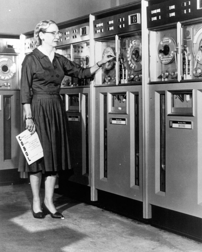 Grace Hopper, 1952.