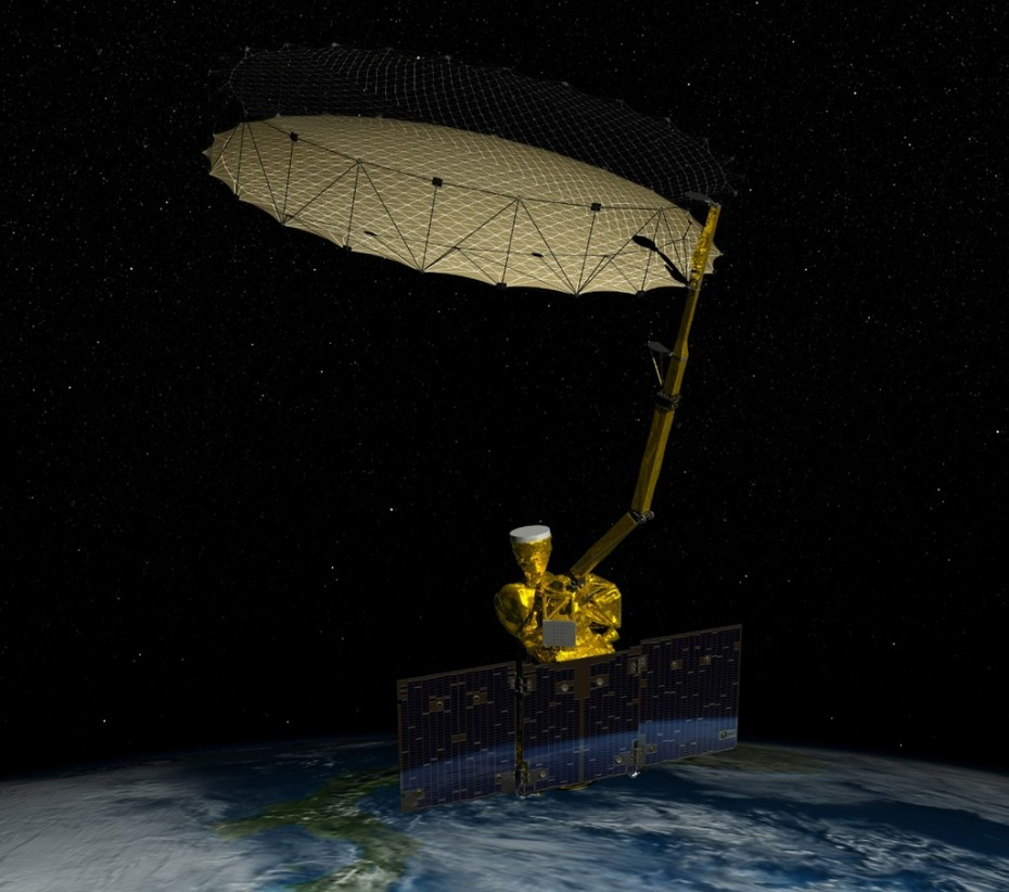 NASA's Soil Moisture Active Passive (SMAP) mission will produce high-resolution global maps of soil moisture to track water availability around our planet and guide policy decisions. Image: NASA