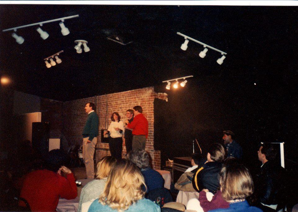 Danny Breen, Jeff Michalski, Jane Morris, Harry Murphy and Fred Kaz perform at UpFront