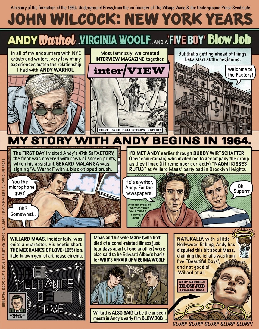 Andy Warhol's Blow Job by Ethan Persoff and Scott Marshall