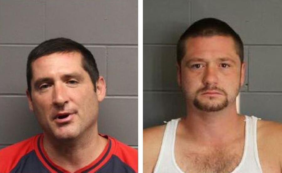 Scott Leader (left) and Steve Leader (right).