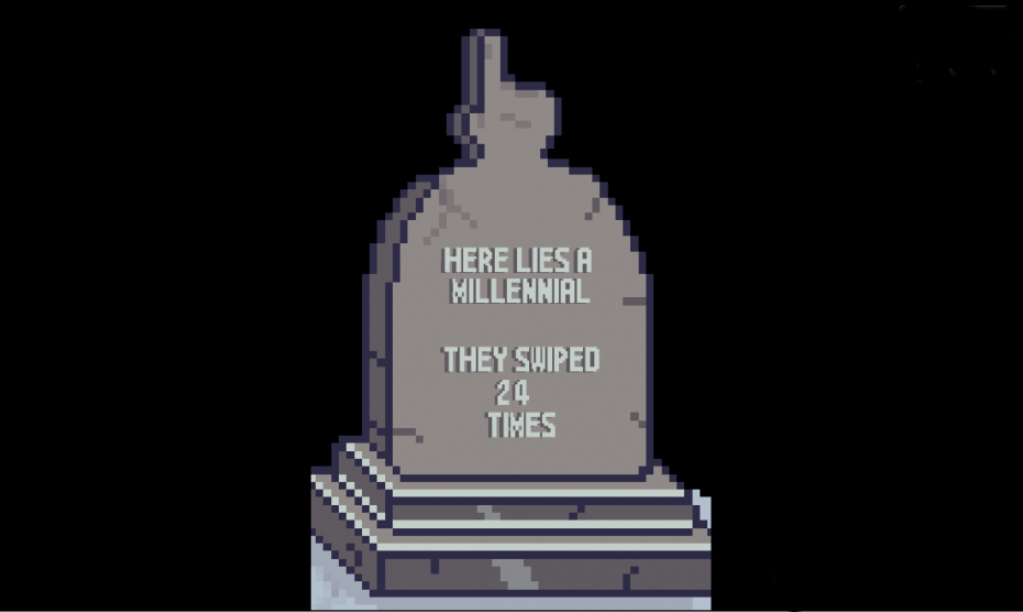millennial-gravestone
