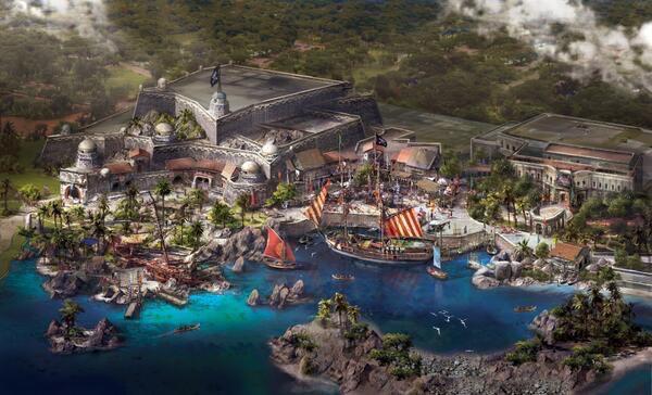 Treasure Cove Concept Art