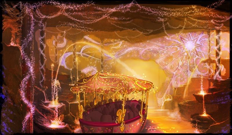Voyage to the Crystal Grotto Concept Art