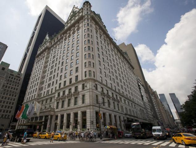The Plaza Hotel, midtown Manhattan. August 19, 2015. [Reuters]