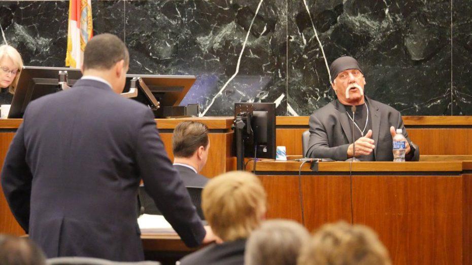 Terry Bollea,  aka Hulk Hogan, in court for the Gawker case. [Reuters]
