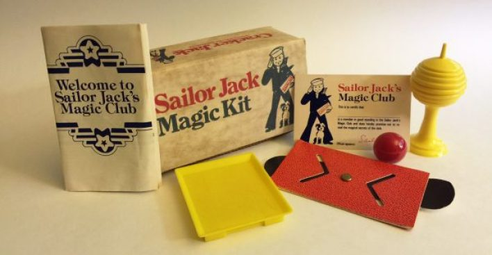 Cracker Jack Magic Set FIXED