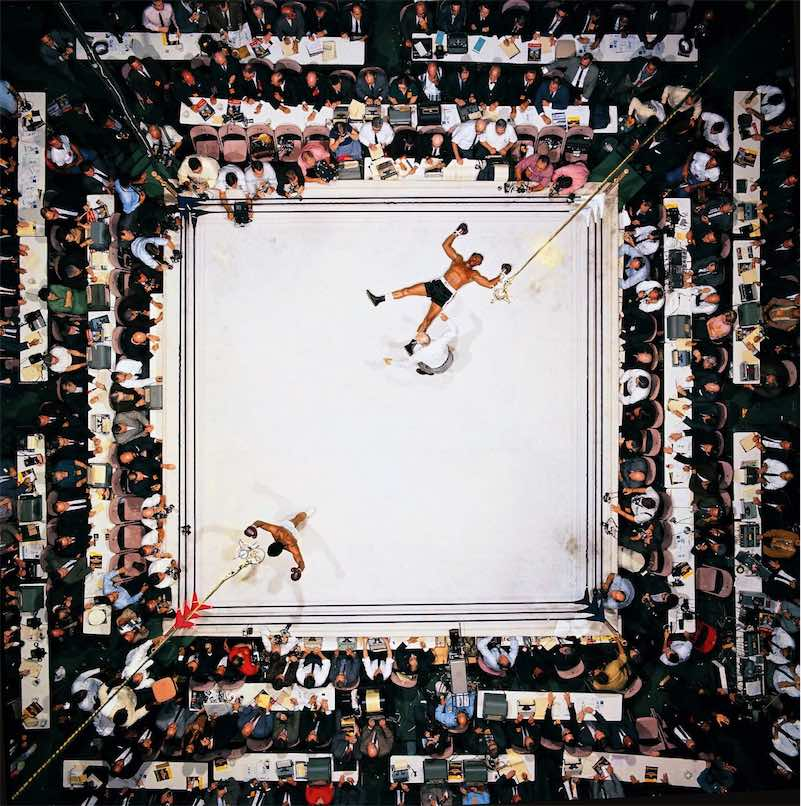 Muhammad Ali knocks out Cleveland Williams at the Astrodome, Houston, 1966