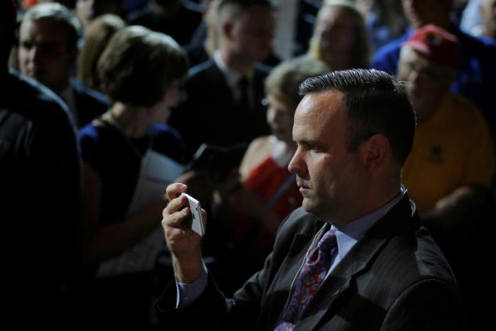 Dan Scavino is the director of social media and senior advisor to Trump. REUTERS/Brian Snyder