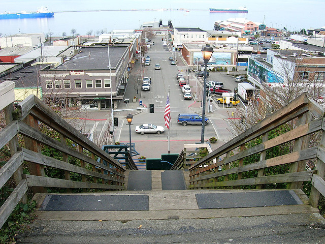 Image of Port Angeles by brewbooks/flickr