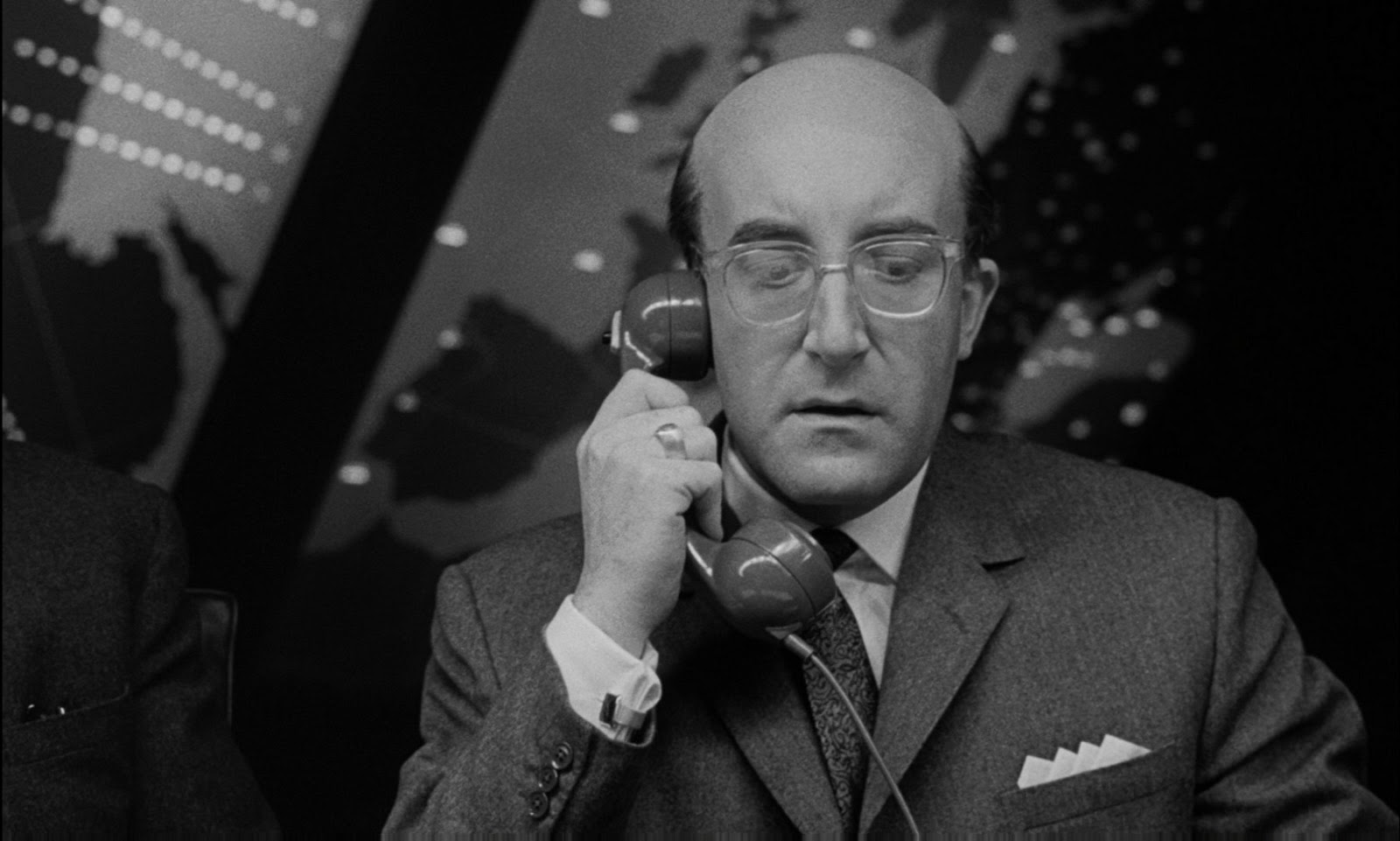 That Dr. Strangelove scene where the U.S. President phones Russia ...