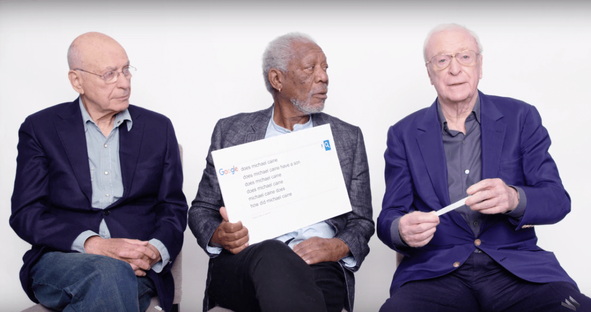 Morgan Freeman, Michael Caine, and Alan Arkin answer the internet's questions | Boing Boing