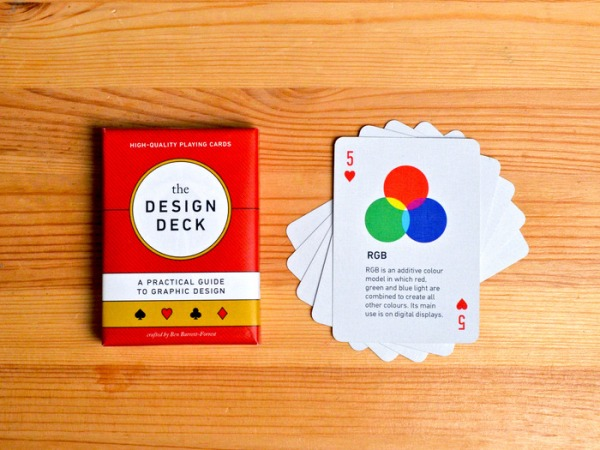 The Design Deck teaches graphic design as you play cards | Boing Boing