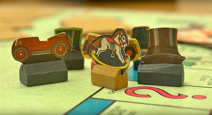 Take a look at a 1940s Monopoly War Time edition made at
