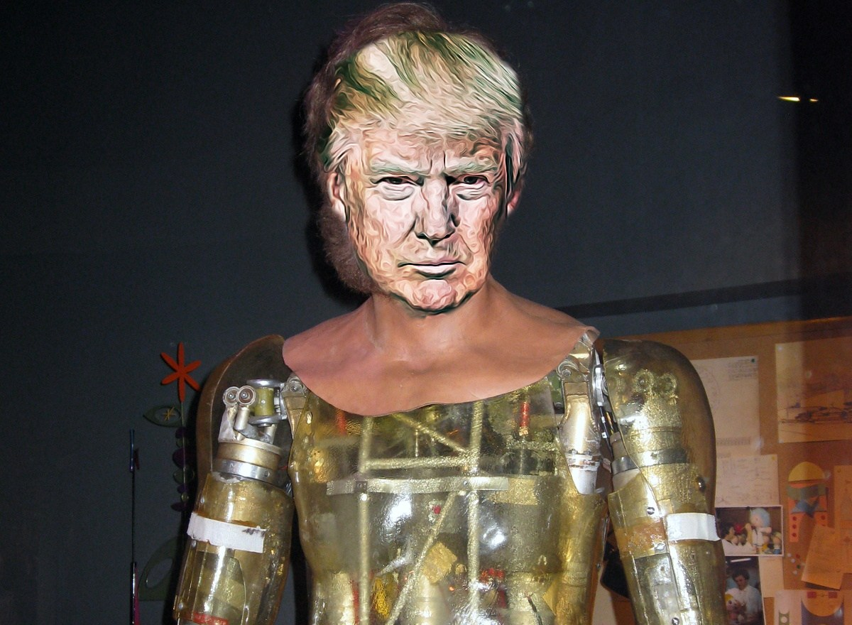 The Donald Trump droid is live at Disney World's Hall of ...