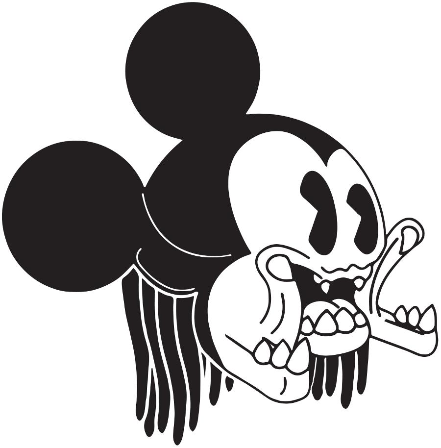 Surreal Mickey vector art