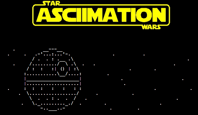 Star Wars Fans You Have To See This Animated Ascii Remake Of Episode Iv Boing Boing