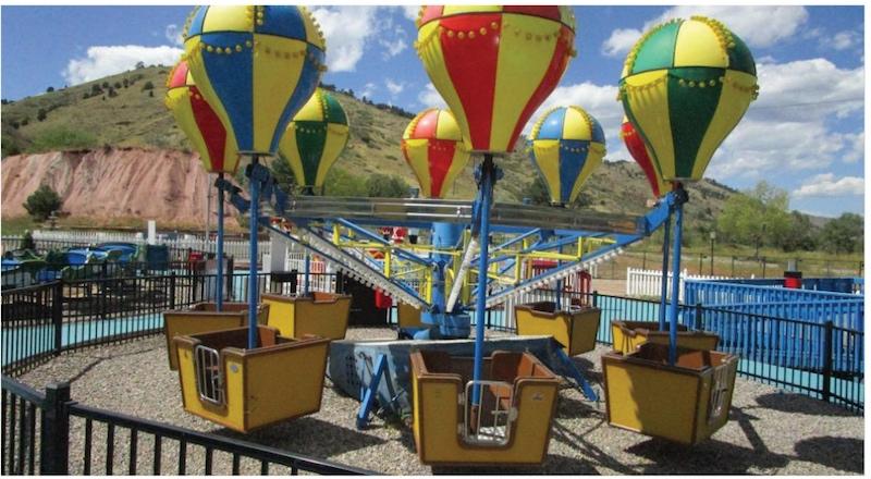 Entire amusement park for auction
