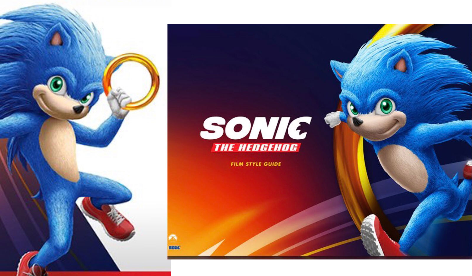 Leaked Sonic The Hedgehog Movie Design Looks Like A Dollar Store