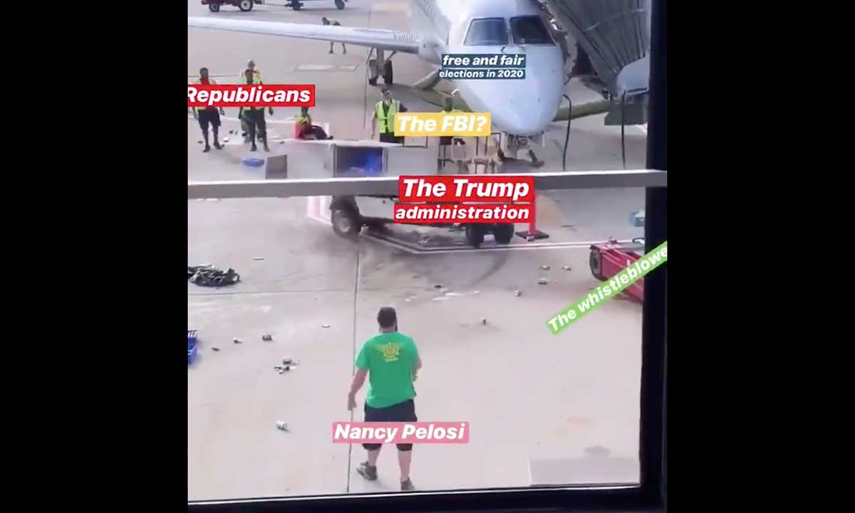 Runaway Airport Cart Becomes Meme For Trump Impeachment Boing Boing