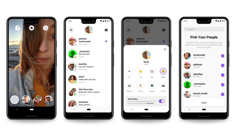 Instagram launches 'Threads' messaging app just for friends 1