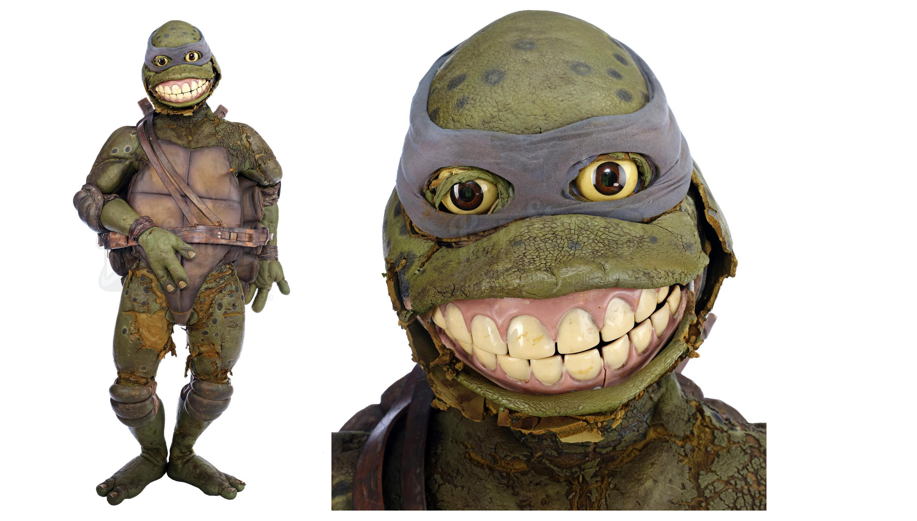 Rotting Leonardo Suit From 1990s Ninja Turtles Movie Fails To Sell At Auction Boing Boing